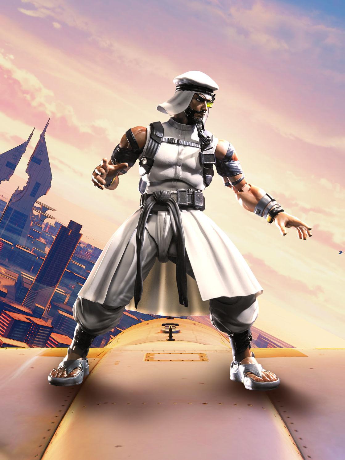 Street Rashid Fighter V - Rashid Street S.H. Figuarts Action Figure (Bandai/Tamashii Nations) 7e190d