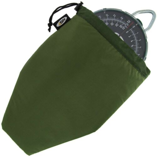 NGT Scales Pouch Green Carp Coarse Fishing Dial Scale Bag with Draw Cord 428