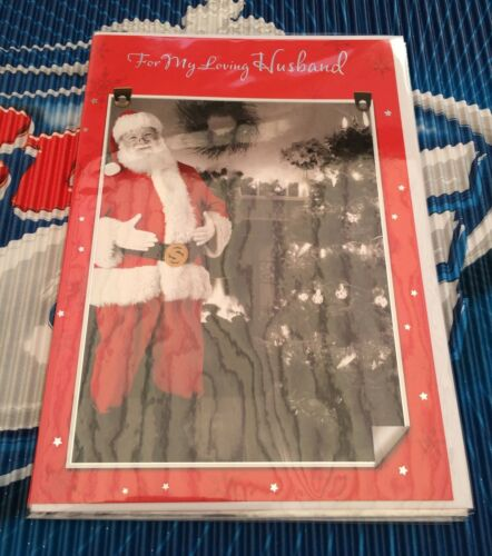 Christmas Card Husband Special Personal Family Cards 10 Different Designs