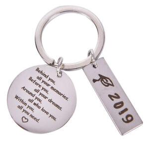 2019-Graduation-Keychain-Behind-you-all-you-memorie-Pendant-DIY-Key-chain-G-RA