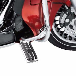 "Motorcycle Highway Foot Pegs 1-1//4/"" Crash Bar Mounting Clamp For Harley Davidson"