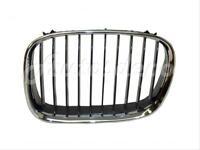 For 1997-2003 Bmw 528i Sedan / 1997-2000 540i Wagon Grille Chrome/black Lh
