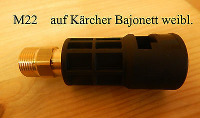 Bayoneta adaptador para Nilfisk alto pistola para Kärcher consumer accesorios