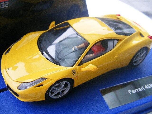 Carrera Digital 132 30540 Ferrari Ferrari Ferrari 458 Italia in GELB  | Zart  23e33e