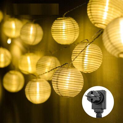 8 x Lichterketten Lichterkette Happy Birthday 2 m LED Geburtstag Girlande