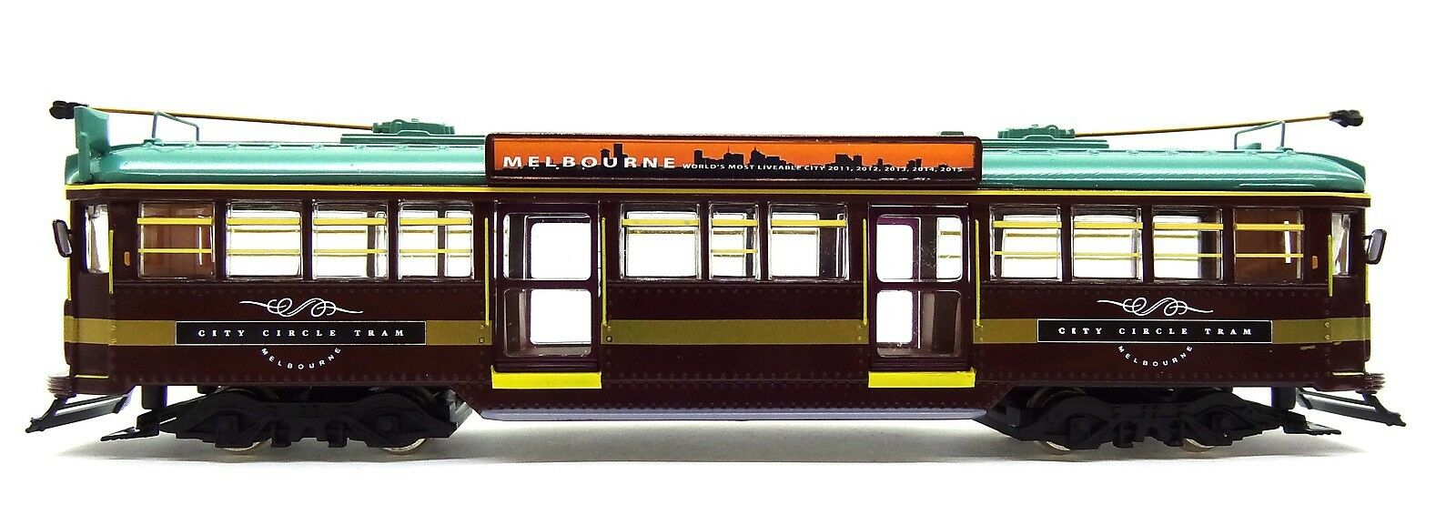 1 76 SCALE MELBOURNE W6 CLASS TRAM - CITY CIRCLE NO. 888