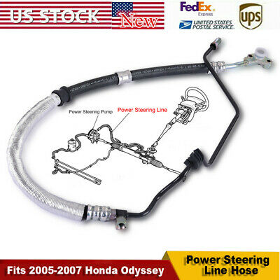 Power Steering Pressure Line Hose Assembly-Pressure Line Assembly fits Odyssey