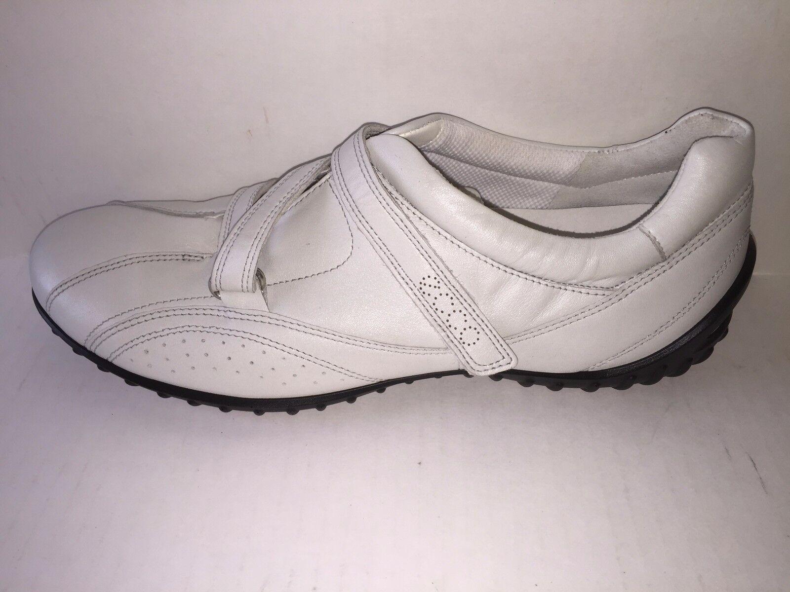 Ecco Donna  scarpe  CHarm Quick Fasatner bianca bianca bianca NEW in Box, Dimensione 10-10.5 1c0cd0