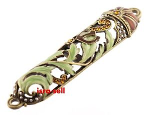 JEWISH-MEZUZAH-CASE-FOR-DOOR-Israel-Judaica-Judaism-Mezzuza-Gift