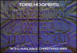 RETURN-OF-THE-LIVING-DEAD-in-3D-Orig-1983-Trade-AD-promo-poster-TOBE-HOOPER