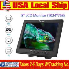 "S801H High Resolution HD 8""LCD Display Monitor VGA BNC Audio HDMI Input For PC"