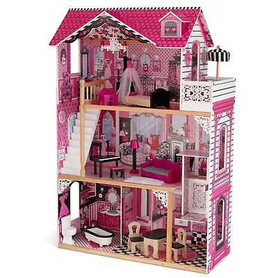 "Kidkraft Amelia Dollhouse ideal for 12"" dolls (such as Barbie's)"