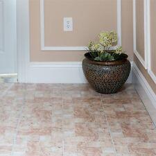 Vinyl Floor Tiles Self Adhesive Peel And Stick Bath Kitchen Flooring 12x12 20pc