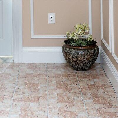 Vinyl Floor Tiles Self Adhesive Peel And Stick Bath Kitchen Flooring 12x12 20pc 669583676578 Ebay
