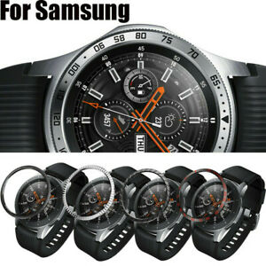 For Samsung Gear S3 Frontier 42//46mm Bezel Ring Adhesive Cover Anti Scratch Hot