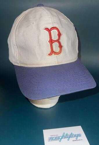 Vtg 80s 90s RARE Boston Red Sox MLB Grosscap Gray