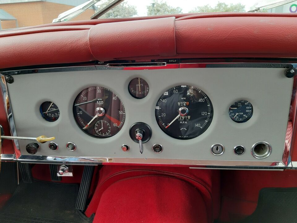 Jaguar XK150, 3,8 DHC LHD, Benzin