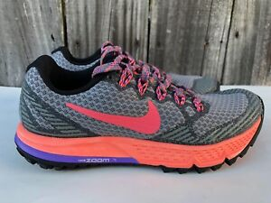 c617ecb68941 Women s Nike Air Zoom Wildhorse 3 Trail Running Shoes Gray Size 5 ...