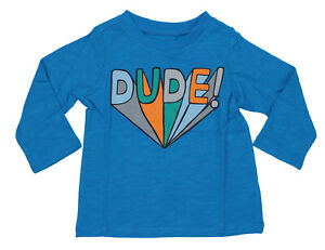 First-Impressions-Baby-Boys-Dude-Long-Sleeve-T-Shirt-NWT-Blue