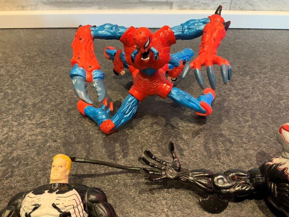 Gamle spidermanfigurer, Marvel