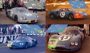 2019 DernièRe Conception Calcas Matra Ms620 Le Mans 1966 Race Test 1:32 1:24 1:43 1:18 64 87 620 Decals Grandes VariéTéS