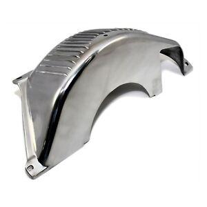 Polished-Aluminum-Flexplate-Flywheel-Cover-GM-Turbo-350-400-TH350-TH400-Shield