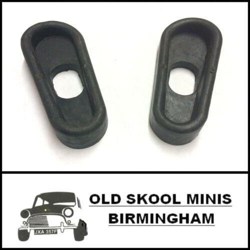 Classic Mini Puerta Comprobar Correa de Goma Sello Par L//H /& R//H MK3 /> 1970-1985 4N4
