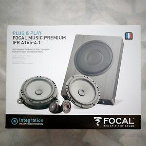 Focal Music Premium IFRA165-4.1 Kit de 4 Haut Parleurs et 1 Subwoofer Compact pour Renault/Dacia/Nissan