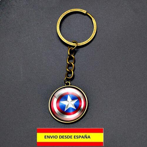 LLAVERO SUPER HEROES BATMAN CAPITAN AMERICA PORTA CHIAVE KEYCHAIN PORTE CLÉS