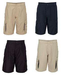 Burnside - Microfiber Shorts, Cargo pockets, Mens sizes, 100 ...
