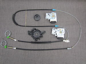 2001 VW New Beetle Window Regulator Repair Kit Front Right OSF UK DRIVER SIDE