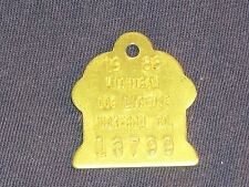 Vintage Dog License Tax Tag Muskegon County Michigan MI 1988 #13799     DT19