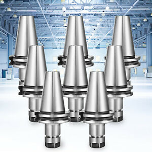"""CAT40-ER16 Collet Chuck Taper Holder CNC Milling Length 70mm 2.76/"""" Manufacturing"""