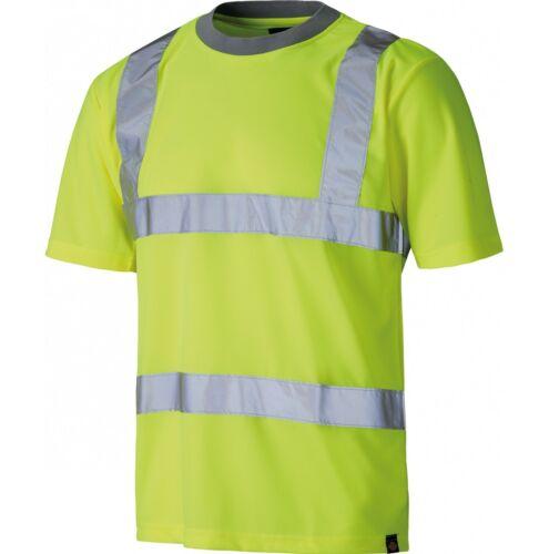Dickies sa22080 warnschutz camiseta camisa de trabajo profesional camisa baushirt warnshirt