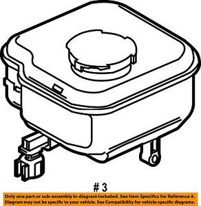 ford oem coolant reservoir tank 3f2z2k478ab ebay Ford Steering Wheel image is loading ford oem coolant reservoir tank 3f2z2k478ab
