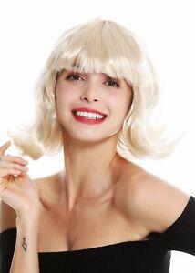 Perruque-Femmes-Carnaval-Court-Longbob-Bob-Blonde-Courbe-Dentelle-Frange-90793
