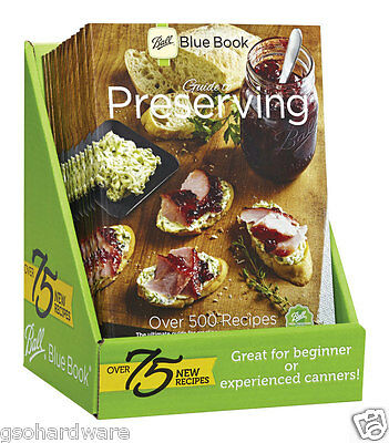 BALL BLUE BOOK 37th Edition Preserving Freezing Cooking Guide NEW!
