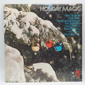 Vintage-Holiday-Magic-Christmas-Record-Album-Vinyl-LP