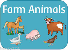 EYFS Topic - FARM ANIMALS - Early Years Foundation Stage IWB Teaching resources