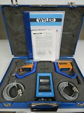 Fowler Wyler A40 Levelmeter Dual Head Electronic Level Surface Plate Calibrator
