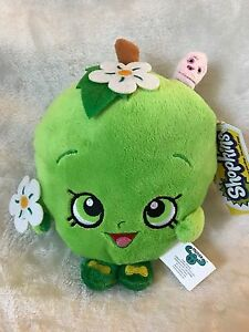 "Brand New 7"" Shopkins Apple Blossom Plush Stuffed Toy NWT Licensed Kids"