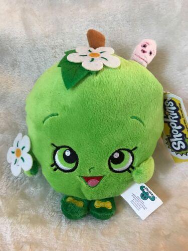 "Brand New 7/"" Shopkins Apple Blossom Plush Stuffed Toy NWT Licensed Kids"