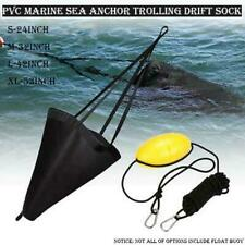 9.8m Fishing Drift Anchor Throw Line Sea Drogue Float Buoy for Boats Kayaks
