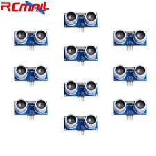 10pcs Hc Sr04 Ultrasonic Sensor Distance Measuring Transducer Module For Arduino