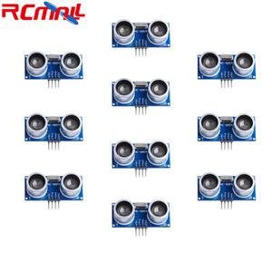 10pcs-Sensore-HC-SR04-ad-ultrasuoni-Distanza-modulo-di-misura-trasduttore-per-Arduino