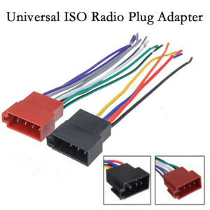 Details about Kit Car Stereo ISO Radio Plug Adapter Cable Stereo  on car suspension kits, drag car wiring kits, car gauge kits, car frame kits, car lights kits, painless wiring kits,
