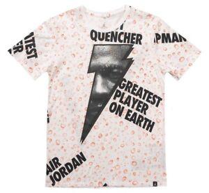 c55420f2 NIKE JORDAN GATORADE Like Mike All Over Print T-Shirt AJ1165-100 ...