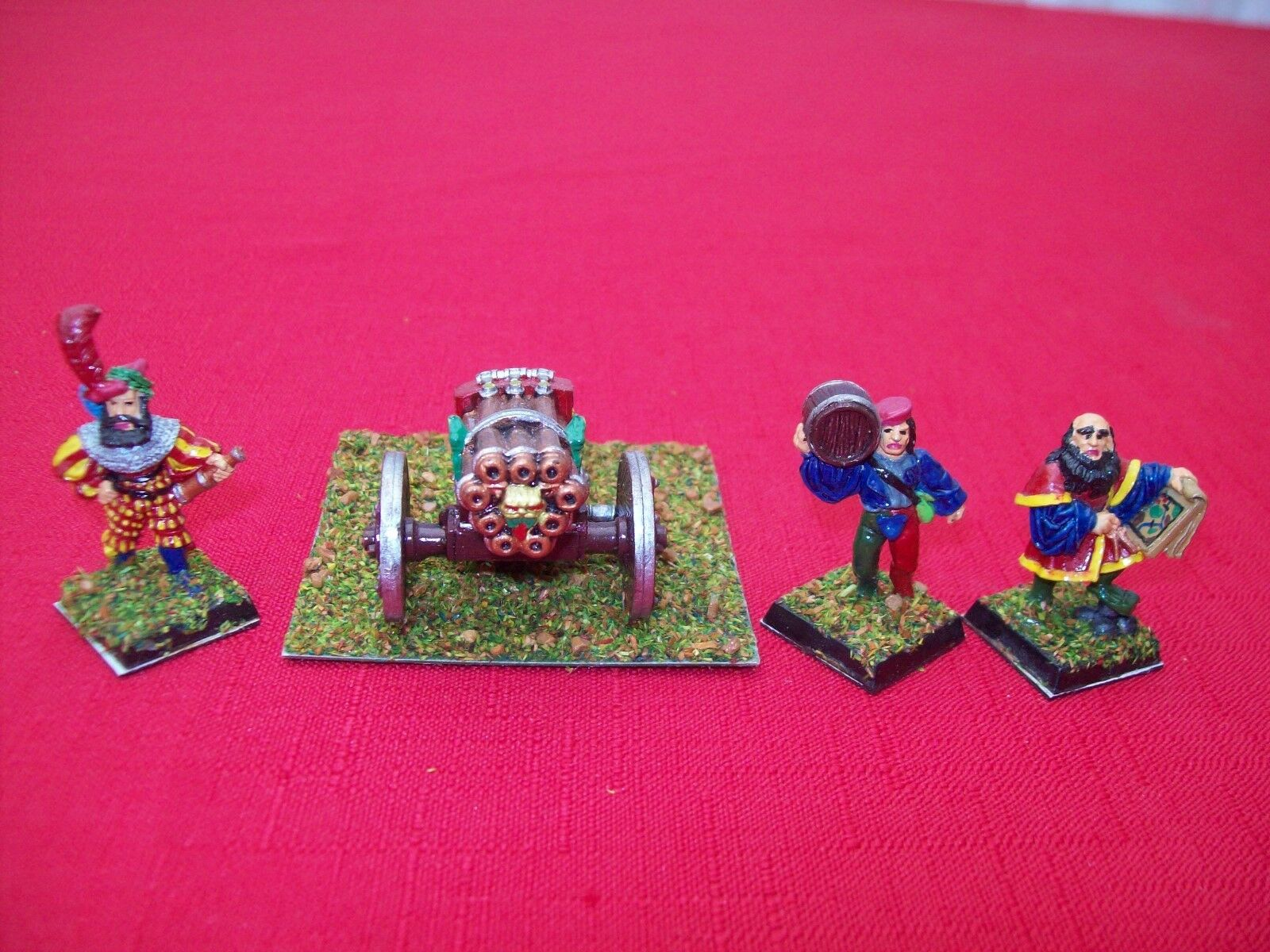 Warhammer Empire Imperial Volly Gun - Complete with Crew