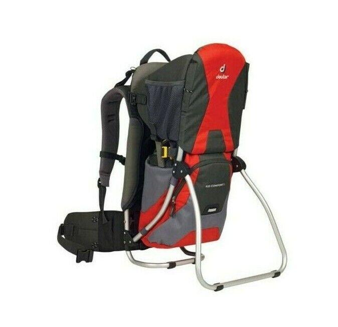 Zaino Trekking Escursionismo  Porta Bambino DEUTER KID COMFORT I SET rojo  ventas directas de fábrica