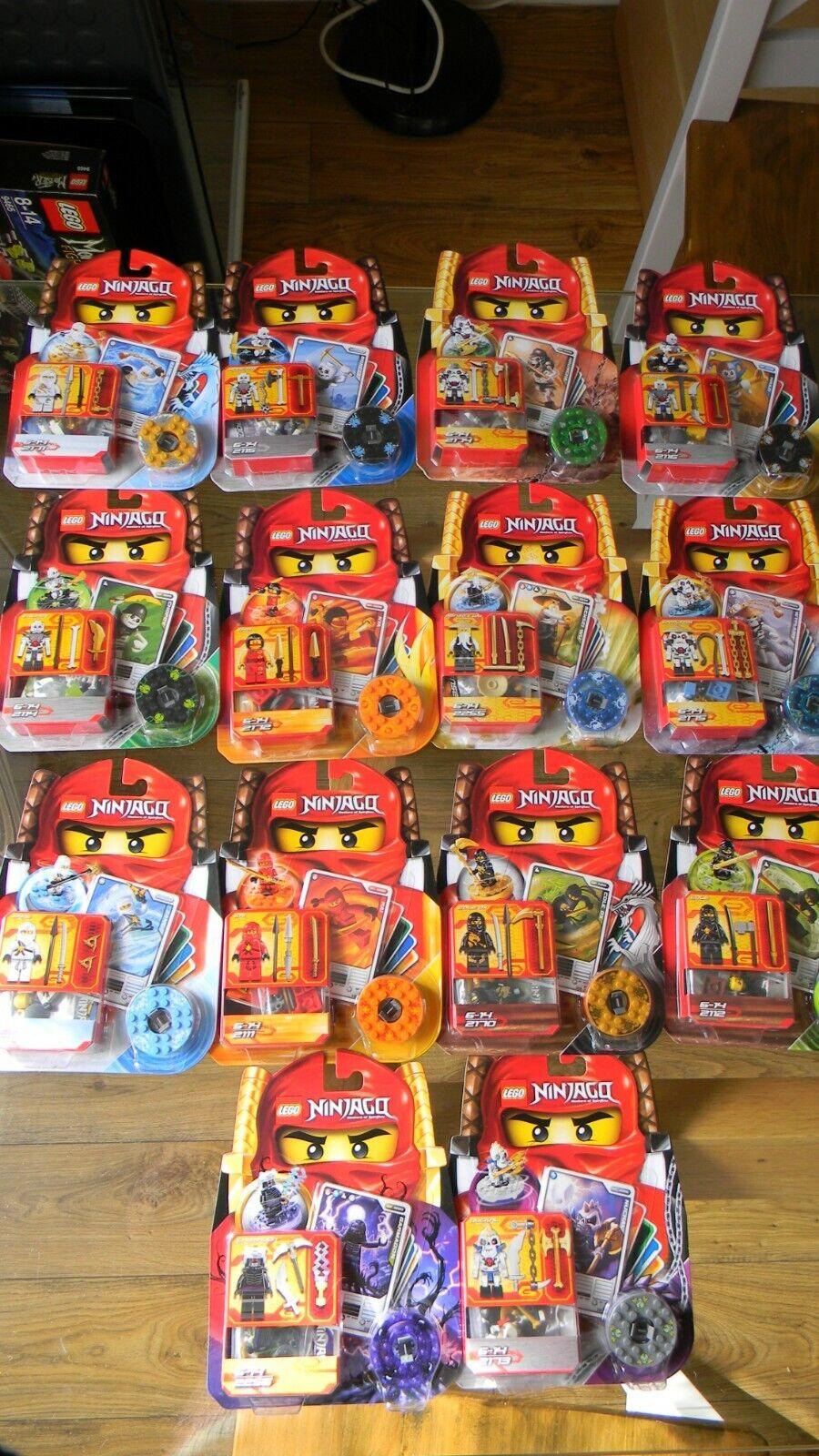 Lego Ninjago - Original Spinners  rare NEW complete set
